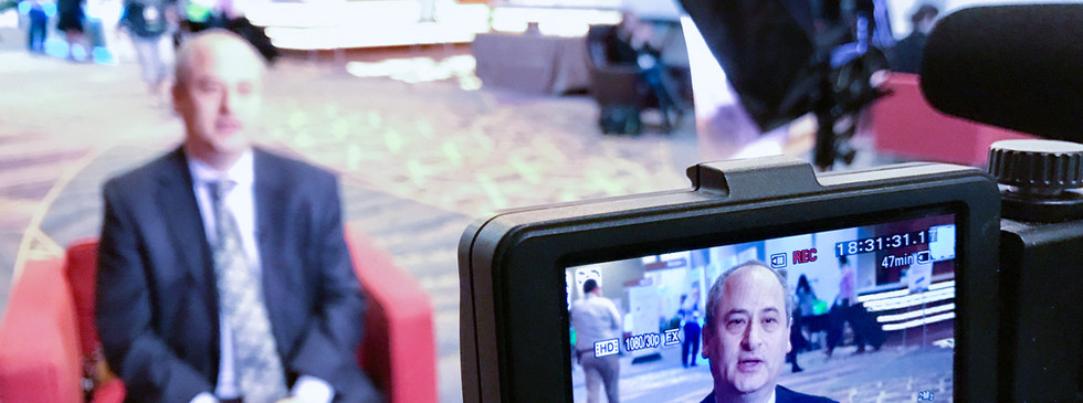 Facebook Live Broadcast at Insurance Convention