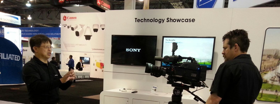 SONY Booth at CES