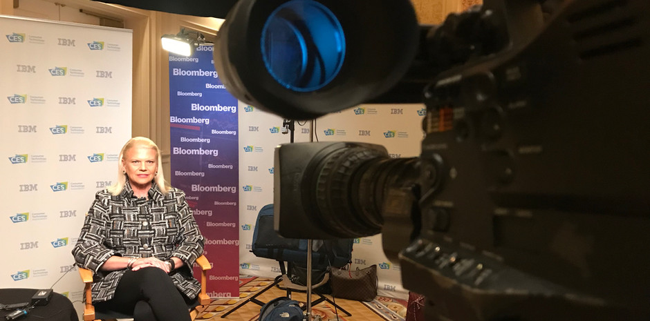 Live Shots for Bloomberg Television w/ Southern Sky Images