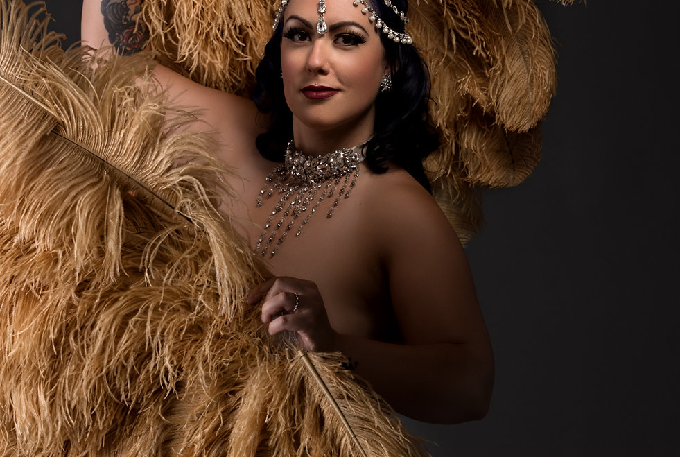 Kitty Kin Evil Burlesque Performer Photo by: Filion Photography