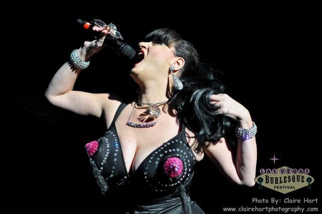 Lili VonSchtupp @ Las Vegas Burlesque Festival