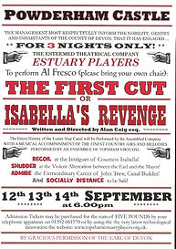 THE FIRST CUT (POWDERHAM CASTLE) POSTER_