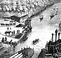 The quay as depcted in _An Account of Ex