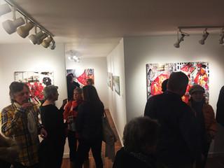 Carol Weinberg WFG Gallery Opening