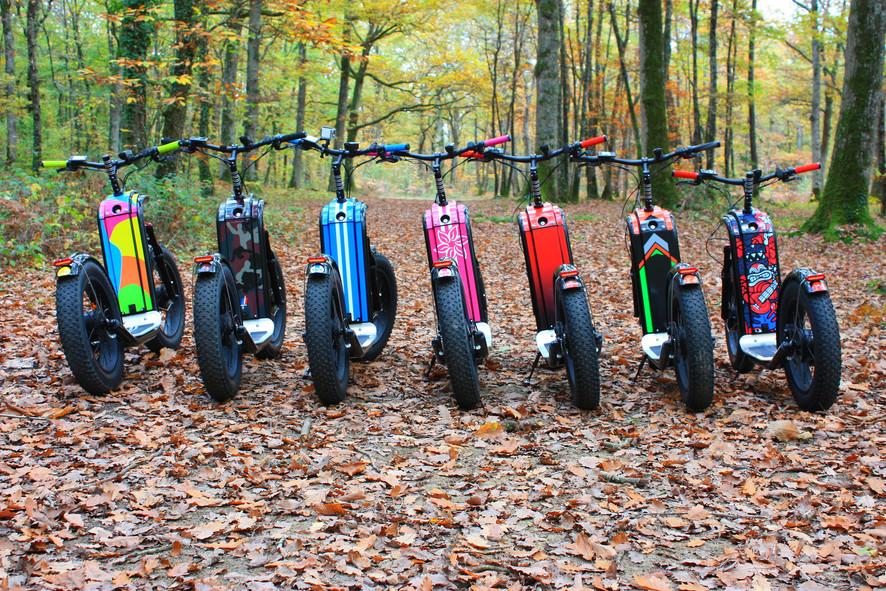 Personalisation Trottlander ZOSH
