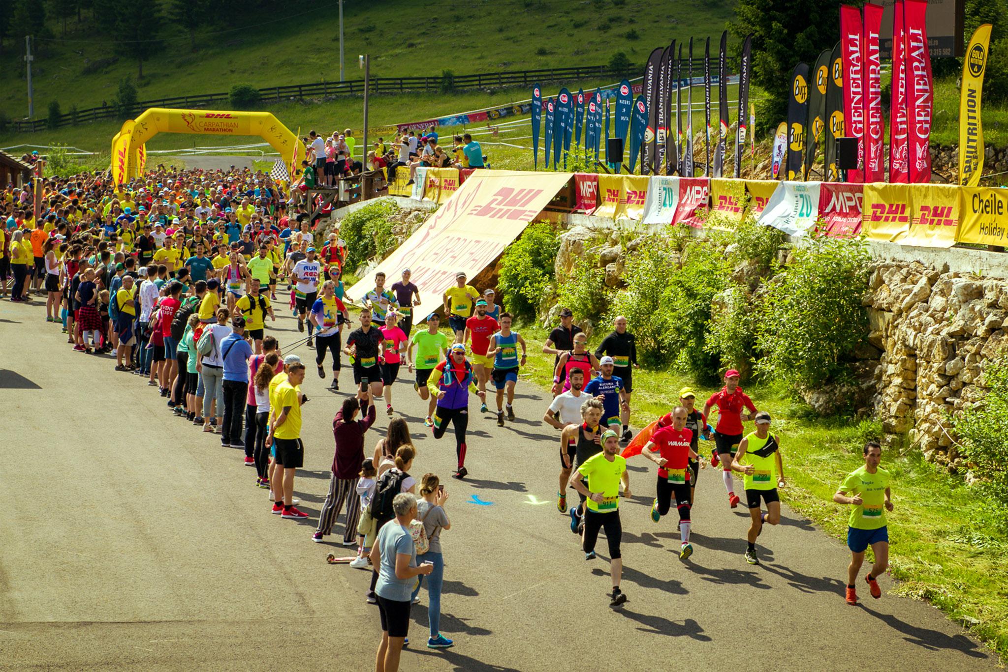 Start DHL Carpathian Marathon 2020