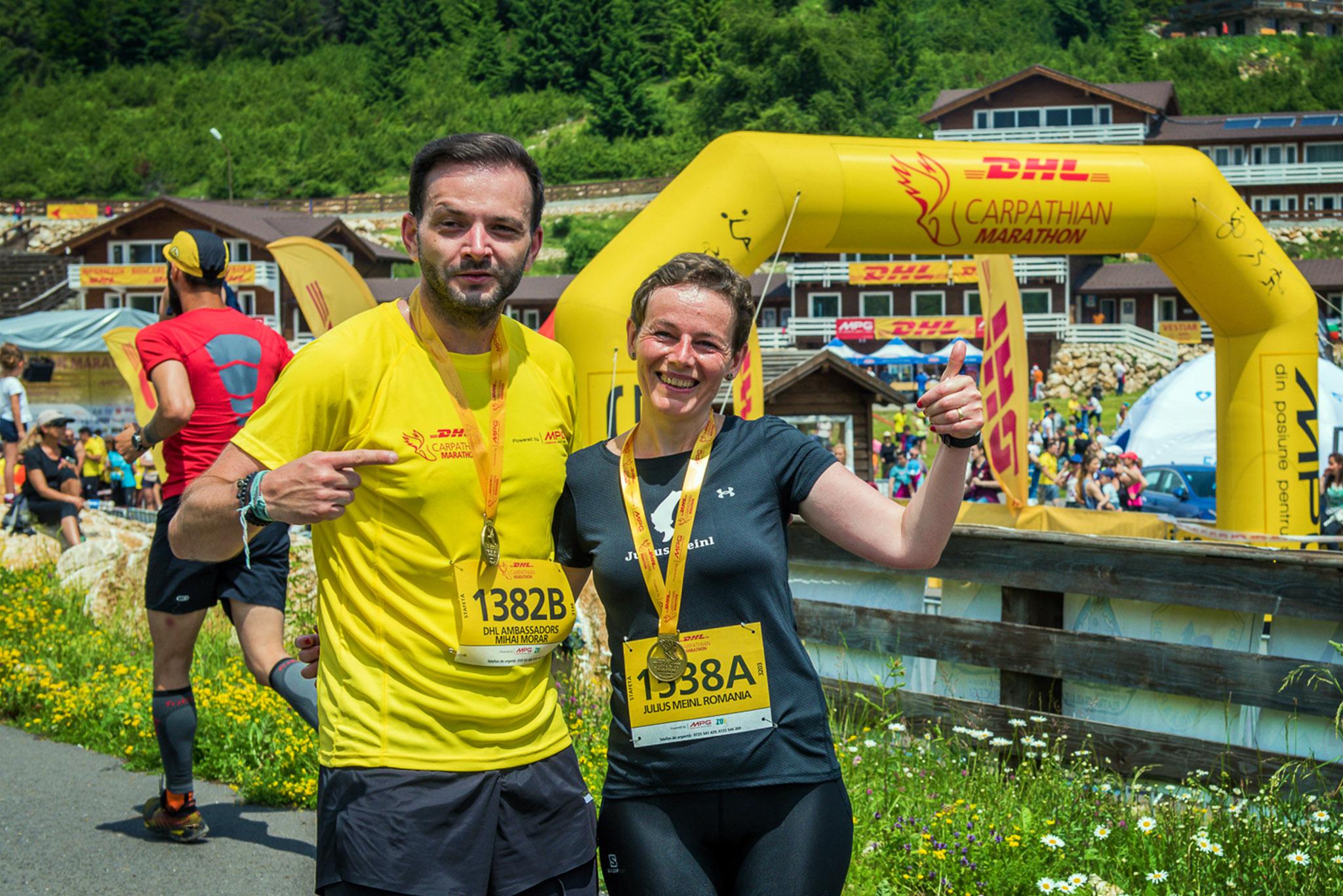 Participanti DHL Carpathian Marathon