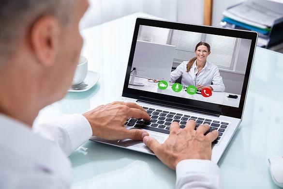 man skype videoconferencing psychology c