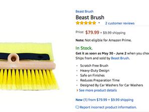 BEAST Brush Available on AMAZON