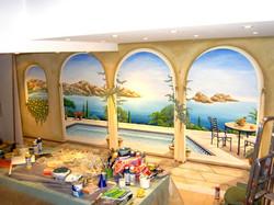 Wandgemälde Rodenkirchen