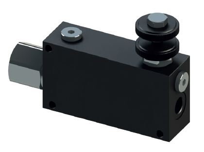 Priority Flow Control Valve - excess to pressure line or tank