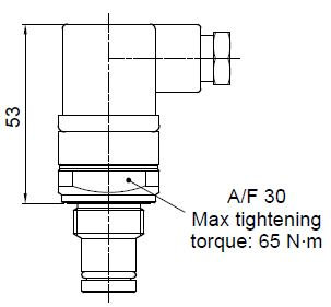Clogging Switch for Pressure Filter