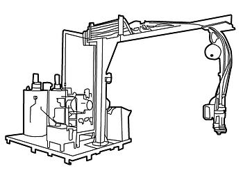 Rotary Power - Meter & Mixing Machine
