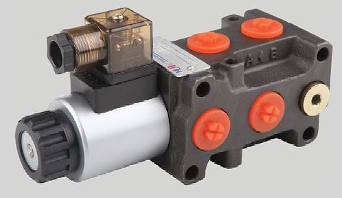 Diverter Valve Solenoid, 6-ports, 50 lpm, 250 bar