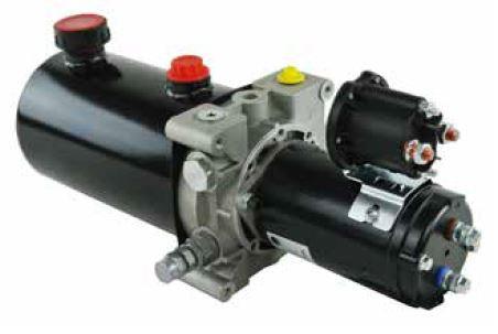 Power Unit DC, 12 or 24 VDC, 1.0 lpm @ 210 bar