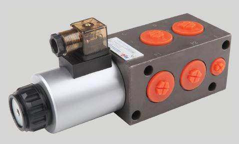 Diverter Valve Solenoid, 6-ports, 80 lpm, 315 bar