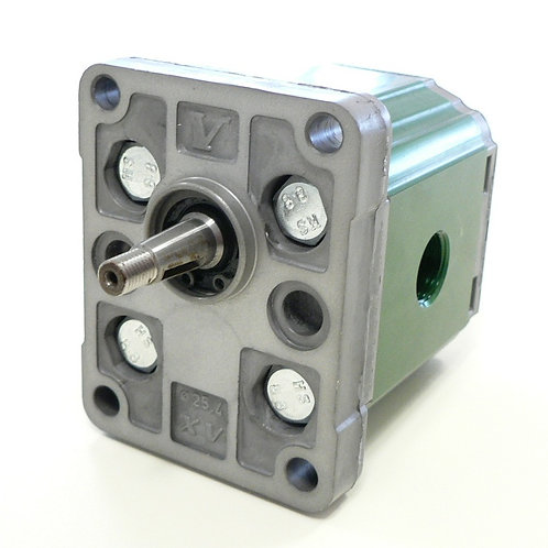 Gear Motor Group 1, 0.9-9.9 cc, DIN mount, 1:8 tapered shaft