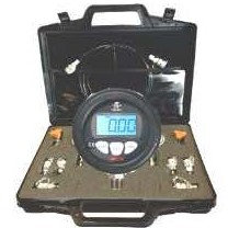 Digital Pressure Gauge Kit - Gauges, Test Hose, Connectors