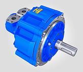 Rotary Power - SMA Radial Piston Motor