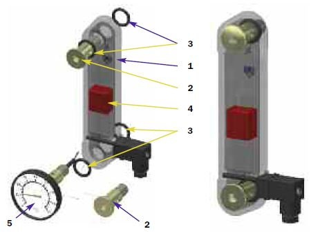 """Level Indicator Electrical / 3"""", 5"""" and 10"""""""