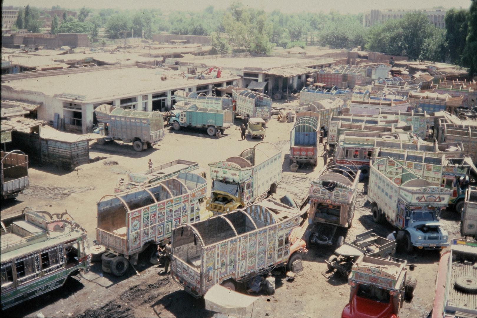 kabul truckstation