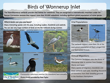 Wonnerup birds sign.png