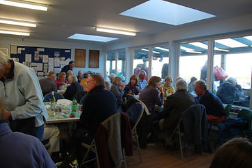 A busy Tuesday Coffee Morning