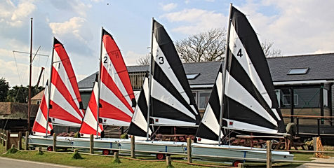 The Hartley 12.2 Dinghies