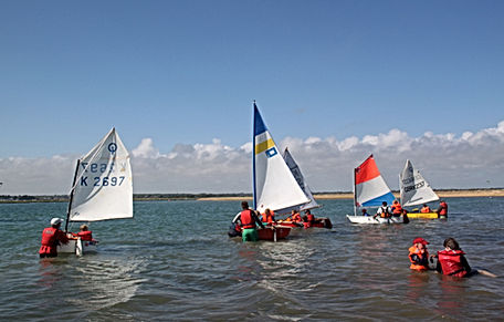 HCSC Junior Sailing Training Day