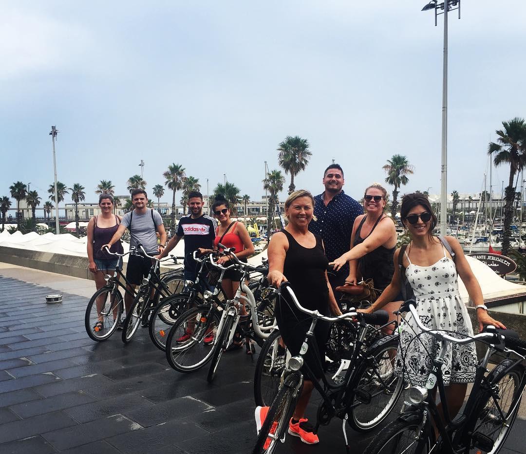 puerto de excursiones en bicicleta