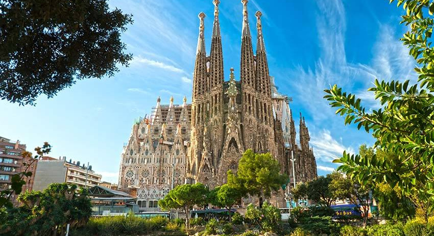 Tour exterior Sagrada Familia