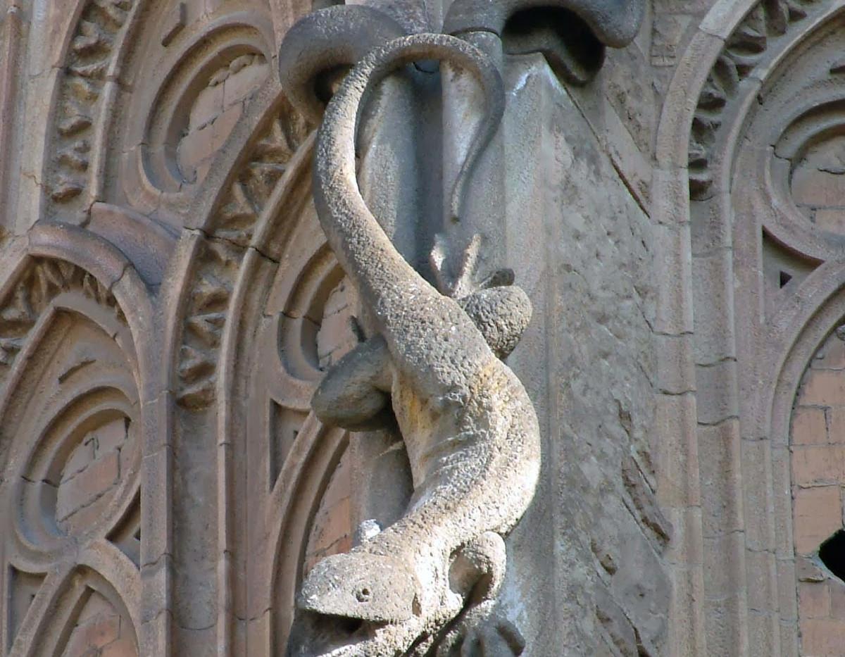 Detall Sagrada Familia