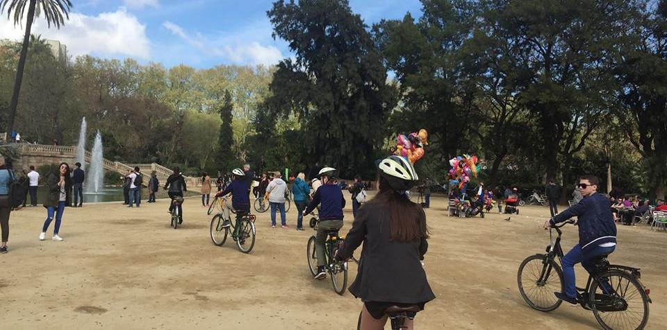 Biking the park