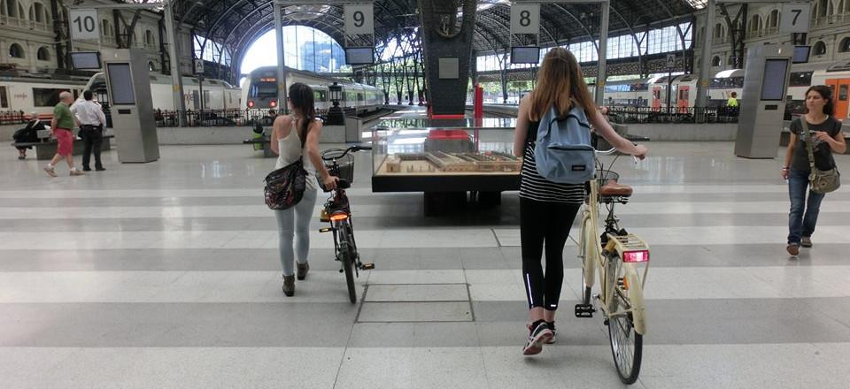 estación de tren turístico