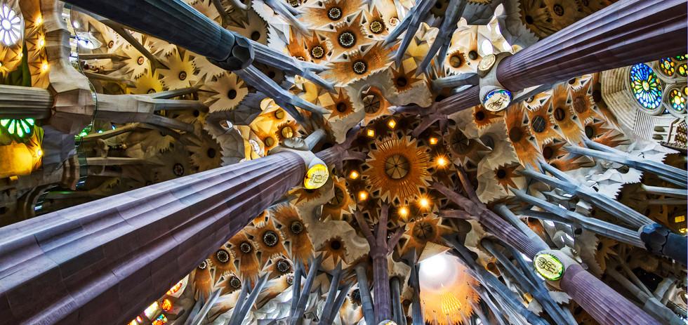 Interior del tour SagradaFamilia