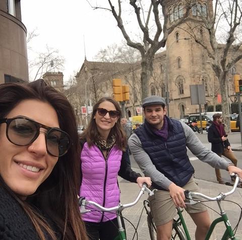 private Gaudi bike tour