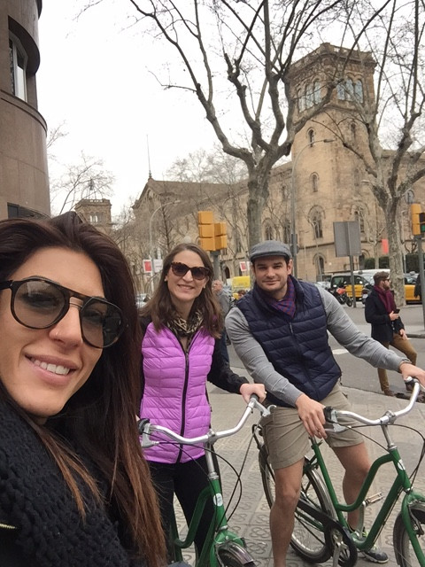 selfie bike tour