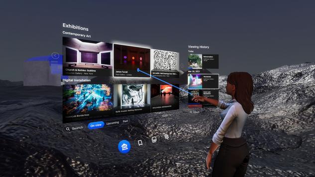 ArtSpace: Virtual Exhibition Experience