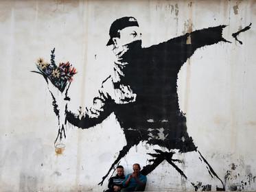 Bansky's graffiti art