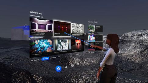 ArtSpace: Virtual Exhibition Platform