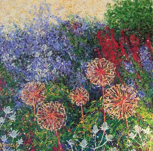 'Red Alliums'