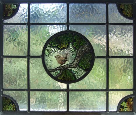 'Oak Wren Door Panel'