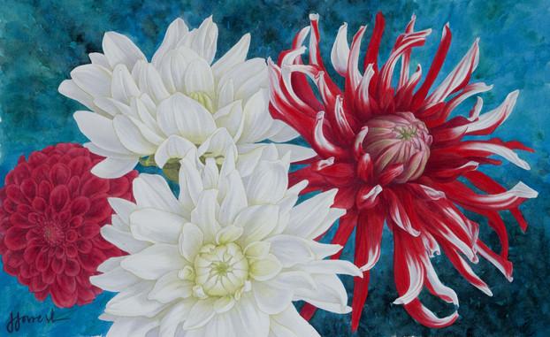 'Dahlia Bouquet'