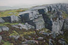 'Curbar Rockfall'
