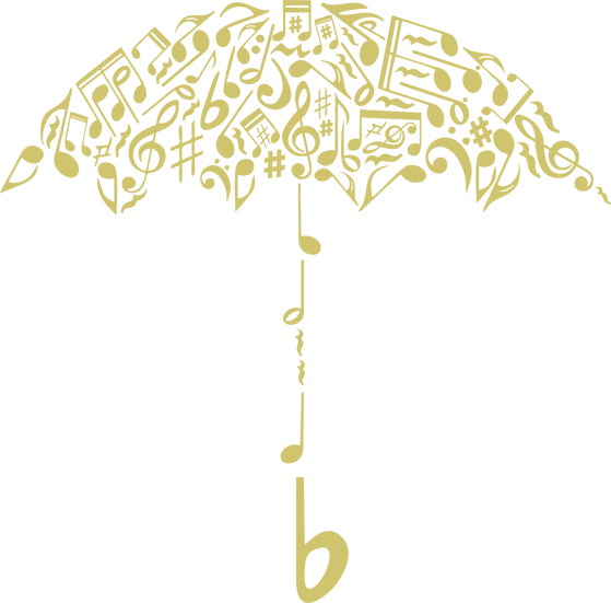 Music umbrella