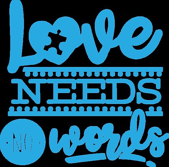 Love needs no words