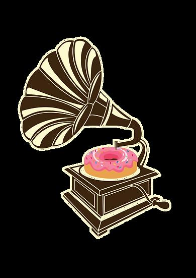 Gramophone Donut