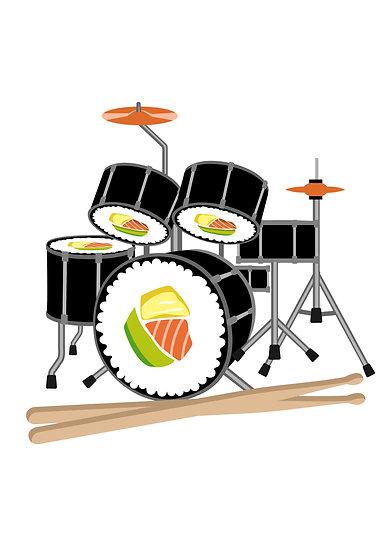 Sushi Drum
