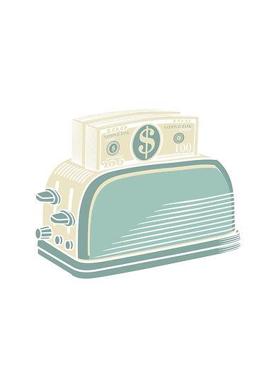 Money Toaster