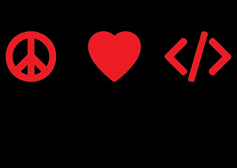 Peace,love, code